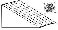 A-north-sloping-plot
